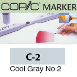 ROTULADOR <b>COPIC MARKER 'C02' COOL GRAY</b>