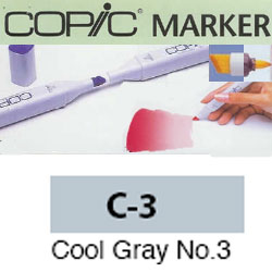 ROTULADOR <b>COPIC MARKER 'C03' COOL GRAY</b>