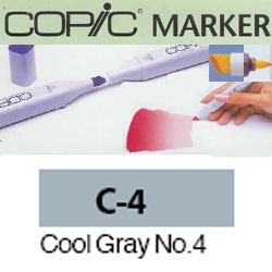 ROTULADOR <b>COPIC MARKER 'C04' COOL GRAY</b>