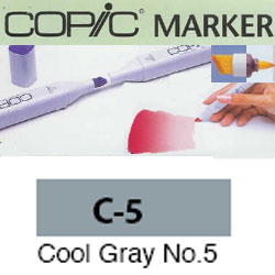 ROTULADOR <b>COPIC MARKER 'C05' COOL GRAY</b>