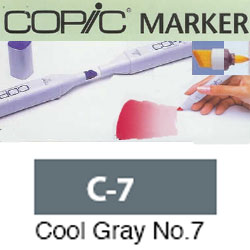 ROTULADOR <b>COPIC MARKER 'C07' COOL GRAY</b>