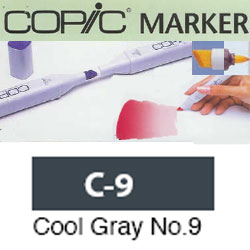 ROTULADOR <b>COPIC MARKER 'C09' COOL GRAY</b>