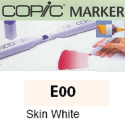 ROTULADOR <b>COPIC MARKER 'E00' SKIN WHITE</b>