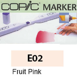 ROTULADOR <b>COPIC MARKER 'E02' FRUIT PINK</b>