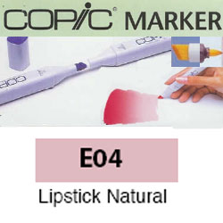 ROTULADOR <b>COPIC MARKER 'E04' LIPSTICK NATURAL</b>