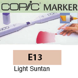 ROTULADOR <b>COPIC MARKER 'E13' LIGHT SUNTAN</b>