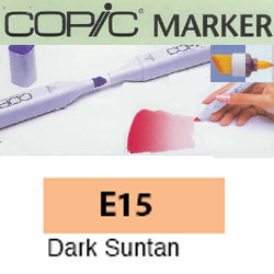ROTULADOR <b>COPIC MARKER 'E15' DARK SUNTAN</b>