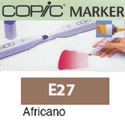 ROTULADOR <b>COPIC MARKER 'E27' AFRICANO</b>