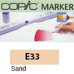 ROTULADOR <b>COPIC MARKER 'E33' SAND</b>