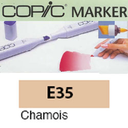 ROTULADOR <b>COPIC MARKER 'E35' CHAMOIS</b>