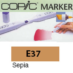 ROTULADOR <b>COPIC MARKER 'E37' SEPIA</b>