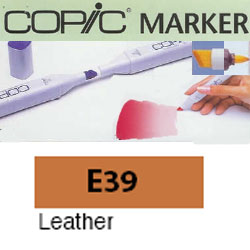 ROTULADOR <b>COPIC MARKER 'E39' LEATHER</b>