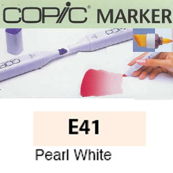 ROTULADOR <b>COPIC MARKER 'E41' PEARL WHITE</b>