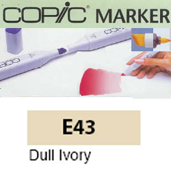 ROTULADOR <b>COPIC MARKER 'E43' DULL IVORY</b>