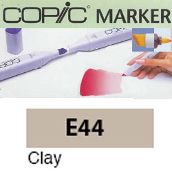 ROTULADOR <b>COPIC MARKER 'E44' CLAY</b>