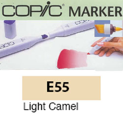 ROTULADOR <b>COPIC MARKER 'E55' LIGHT CAMEL</b>