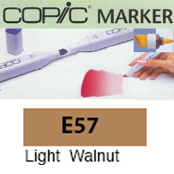 ROTULADOR <b>COPIC MARKER 'E57' LIGHT WALNUT</b>