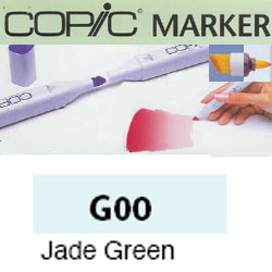 ROTULADOR <b>COPIC MARKER 'G00' JADE GREEN</b>