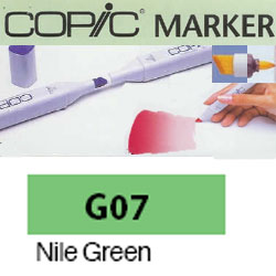 ROTULADOR <b>COPIC MARKER 'G07' NILE GREEN</b>