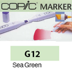 ROTULADOR <b>COPIC MARKER 'G12' SEA GREEN</b>