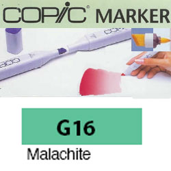 ROTULADOR <b>COPIC MARKER 'G16' MALACHITE</b>