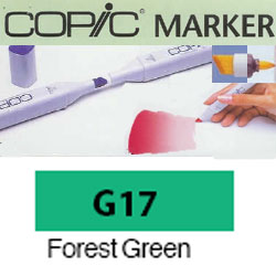 ROTULADOR <b>COPIC MARKER 'G17' FOREST GREEN</b>
