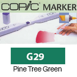ROTULADOR <b>COPIC MARKER 'G29' PINE TREE GREEN</b>