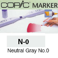 ROTULADOR <b>COPIC MARKER 'N00' NEUTRAL GRAY</b>