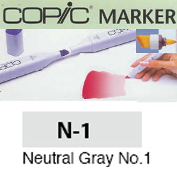 ROTULADOR <b>COPIC MARKER 'N01' NEUTRAL GRAY</b>