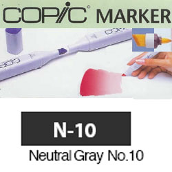 ROTULADOR <b>COPIC MARKER 'N10' NEUTRAL GRAY</b>