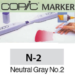 ROTULADOR <b>COPIC MARKER 'N02' NEUTRAL GRAY</b>
