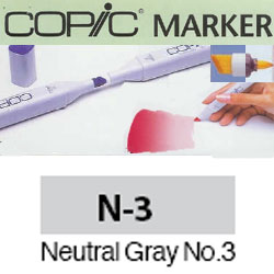 ROTULADOR <b>COPIC MARKER 'N03' NEUTRAL GRAY</b>