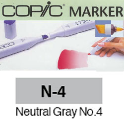 ROTULADOR <b>COPIC MARKER 'N04' NEUTRAL GRAY</b>