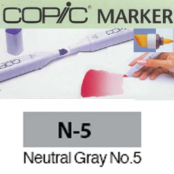 ROTULADOR <b>COPIC MARKER 'N05' NEUTRAL GRAY</b>