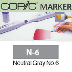 ROTULADOR <b>COPIC MARKER 'N06' NEUTRAL GRAY</b>