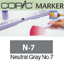 ROTULADOR <b>COPIC MARKER 'N07' NEUTRAL GRAY</b>