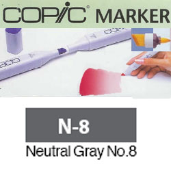 ROTULADOR <b>COPIC MARKER 'N08' NEUTRAL GRAY</b>