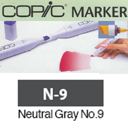 ROTULADOR <b>COPIC MARKER 'N09' NEUTRAL GRAY</b>