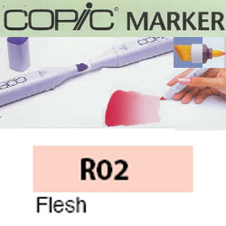 ROTULADOR <b>COPIC MARKER 'R02' FLESH</b>