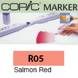 ROTULADOR <b>COPIC MARKER 'R05' SALMON RED</b>