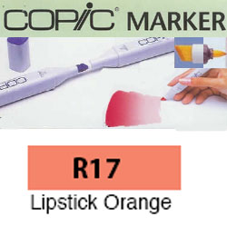 ROTULADOR <b>COPIC MARKER 'R17' LIPSTICK ORANGE</b>