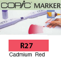 ROTULADOR <b>COPIC MARKER 'R27' CADMIUM RED</b>