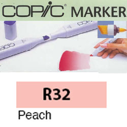 ROTULADOR <b>COPIC MARKER 'R32' PEACH</b>