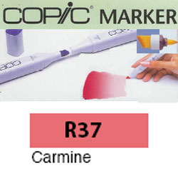 ROTULADOR <b>COPIC MARKER 'R37' CARMINE</b>