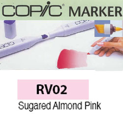 ROTULADOR <b>COPIC MARKER 'RV02' SUGARED ALMOND PINK</b>