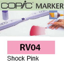 ROTULADOR <b>COPIC MARKER 'RV04' SHOCK PINK</b>