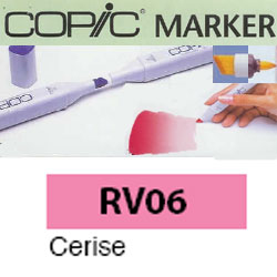 ROTULADOR <b>COPIC MARKER 'RV06' CERISE</b>