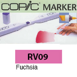 ROTULADOR <b>COPIC MARKER 'RV09' FUCHSIA</b>