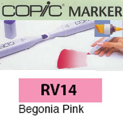 ROTULADOR <b>COPIC MARKER 'RV14' BEGONIA PINK</b>