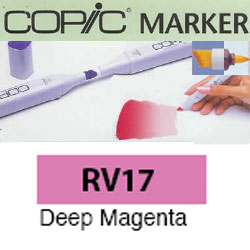 ROTULADOR <b>COPIC MARKER 'RV17' DEEP MAGENTA</b>